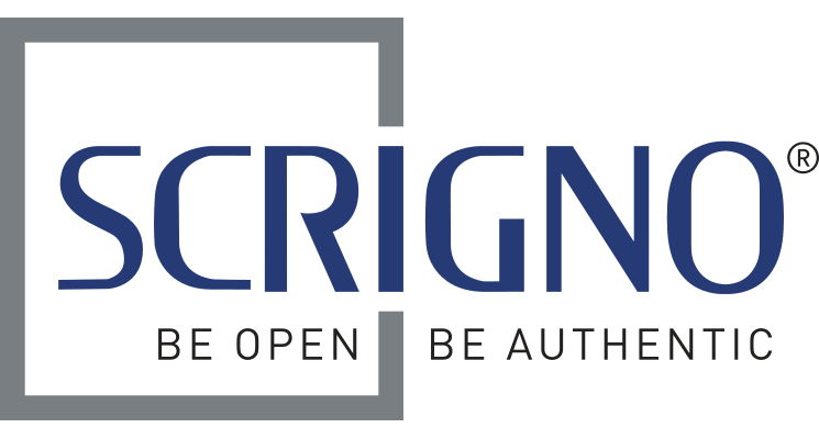 Be Open Be Authentic - Scrigno logo